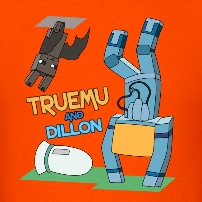 Men's T-Shirt: TrueMU and Dillon!