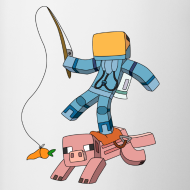Design ~ Mug: Carrot-on-a-Stick!