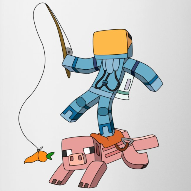 Mug: Carrot-on-a-Stick!