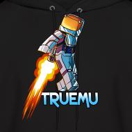 Design ~ Men's Hoodie: Jetpack TrueMU!