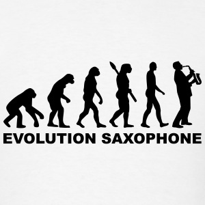 Evolution Saxophone T-Shirts - Men's T-Shirt