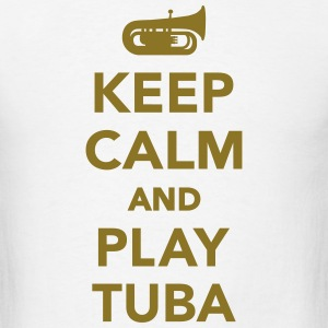 Keep calm and Play Tuba T-Shirts - Men's T-Shirt