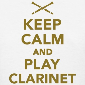 Keep calm and Play clarinet Women's T-Shirts - Women's T-Shirt