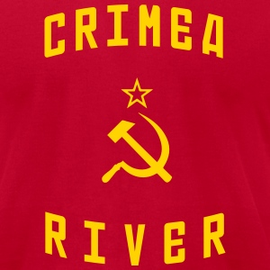 Crimea River T-Shirts - Men's T-Shirt by American Apparel
