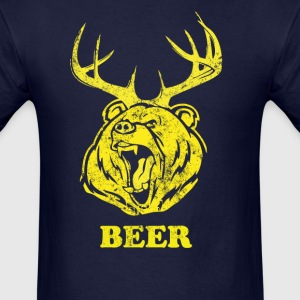 Bear-Deer - Men's T-Shirt
