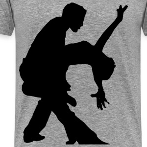 Salsa Dancers - Men's Premium T-Shirt
