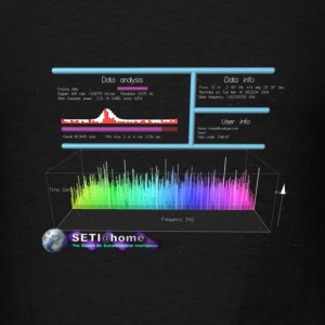 Seti@Home - Men's T-Shirt