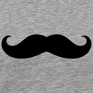 Original moustache T-Shirts - Men's Premium T-Shirt