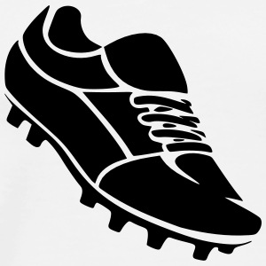 Football Cleats T-Shirts - Men's Premium T-Shirt