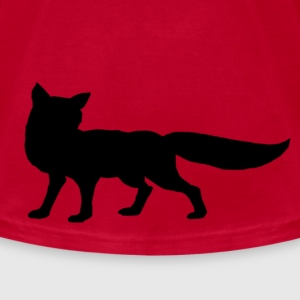 Black Fox T-Shirts - Men's T-Shirt by American Apparel