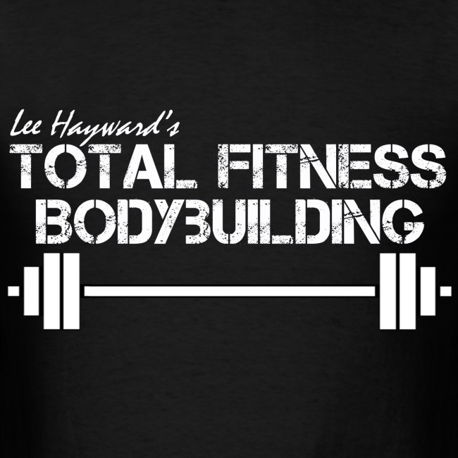 Total Fitness Bodybuilding Barbell T-Shirt