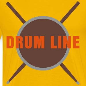 Drum Line  T-Shirts - Men's Premium T-Shirt
