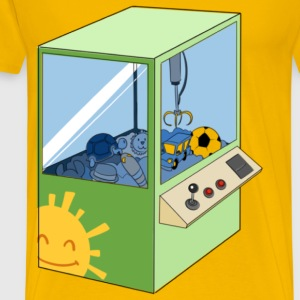 The Claw Arcade Machine - Men's Premium T-Shirt