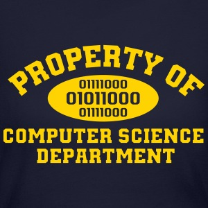 Property Of Computer Science T-Shirt - Women's Long Sleeve Jersey T-Shirt
