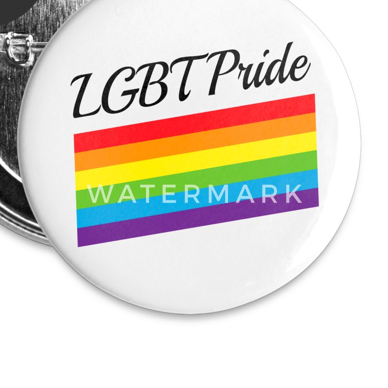 LGBT Pride Buttons - Small Buttons