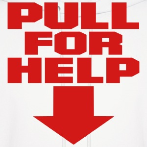 Pull For Help Hoodies - Men's Hoodie