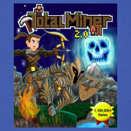 Design ~ Total Miner 2.0 Cover Art T-Shirt