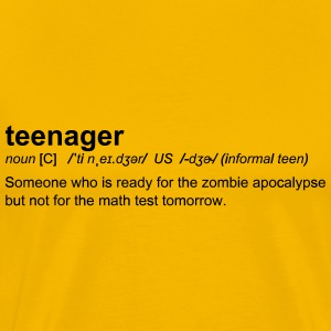 Definition of Teenager - Men's Premium T-Shirt