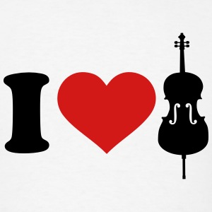 I love Cello T-Shirts - Men's T-Shirt