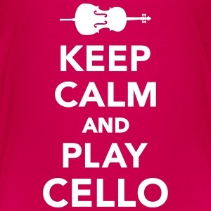 Keep calm and Play Cello Kids' Shirts - Kids' Premium T-Shirt