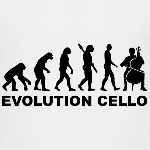 Evolution Cello Kids' Shirts - Kids' Premium T-Shirt