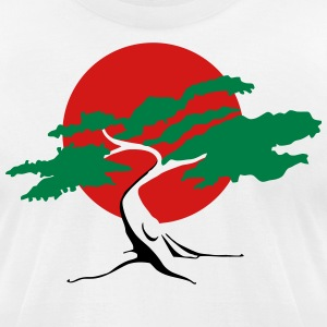 bonsai three T-Shirts - Men's T-Shirt by American Apparel