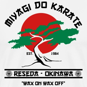 miyagi do karate T-Shirts - Men's Premium T-Shirt