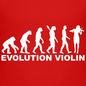 Evolution violin Kids' Shirts - Kids' Premium T-Shirt