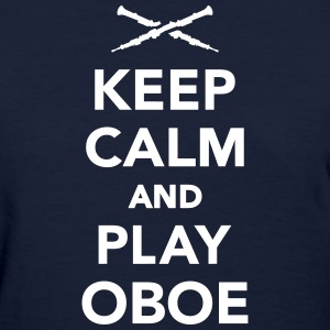Keep calm and Play Oboe Women's T-Shirts - Women's T-Shirt