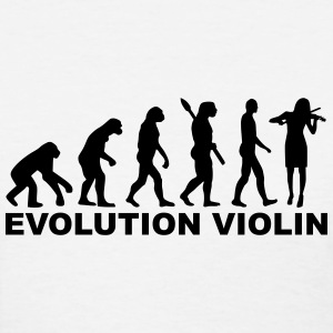 Evolution violin Women's T-Shirts - Women's T-Shirt