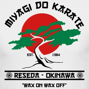 miyagi do karate Long Sleeve Shirts - Men's Long Sleeve T-Shirt by Next Level