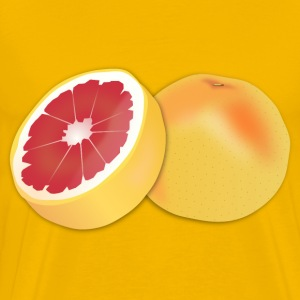 Grapefruit - Men's Premium T-Shirt