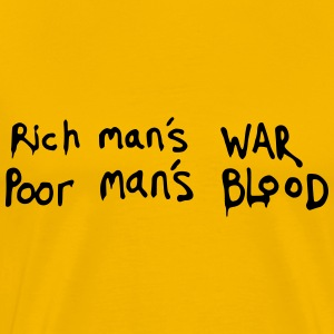 War and blood - Men's Premium T-Shirt