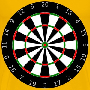 Dartboard - Men's Premium T-Shirt
