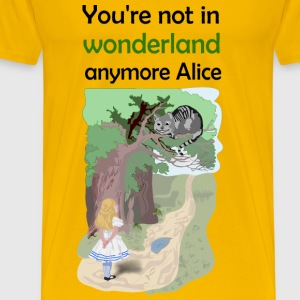 Alice not in wonderland - Men's Premium T-Shirt