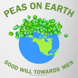 Peas On Earth Bottles & Mugs - Coffee/Tea Mug