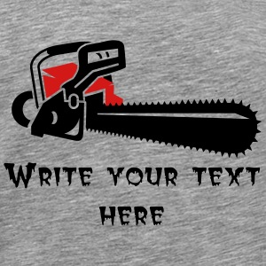 A chainsaw T-Shirts - Men's Premium T-Shirt