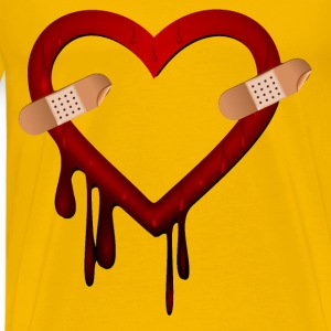 Heart Bleed Patched - Men's Premium T-Shirt