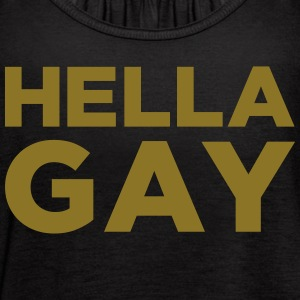 Hella Gay Tanks - Women's Flowy Tank Top by Bella