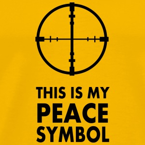 This is my peace symbol - Men's Premium T-Shirt