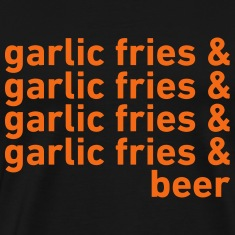 Garlic Fries & Beer (SF Giants) T-Shirts