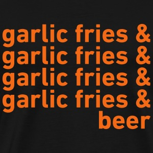 Garlic Fries & Beer (SF Giants) T-Shirts - Men's Premium T-Shirt
