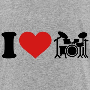 I love Drums Kids' Shirts - Kids' Premium T-Shirt
