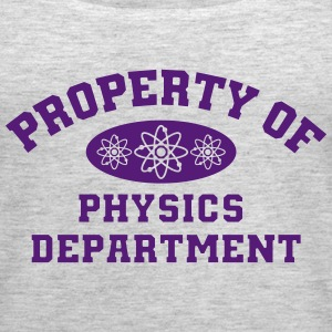 Property Of Physics Department - Women's Premium Tank Top