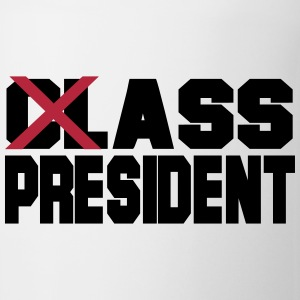 Class President: Ass President Bottles & Mugs - Coffee/Tea Mug