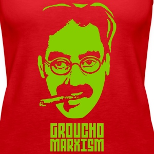 Groucho Marxism Tanks - Women's Premium Tank Top