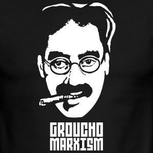 Groucho Marxism T-Shirts - Men's Ringer T-Shirt