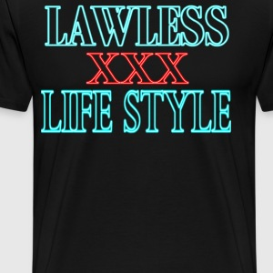 Lawless Lifestyle Neon - Men's Premium T-Shirt