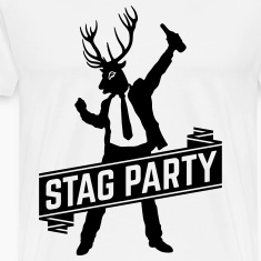 Stag Party / Bachelor Party (1C) T-Shirts