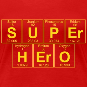 S-U-P-Er H-Er-O (Super Hero) - Women's Premium T-Shirt